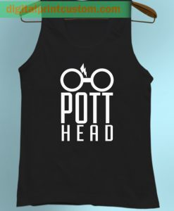 Funny Pott HeadTank Top Harry Potter