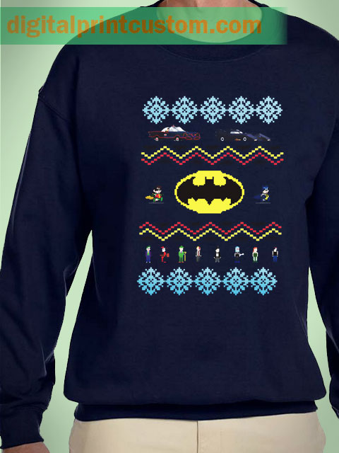 Batman Character Christmas Sweater