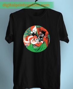 Batman Joker and Harley Quinn Christmas Unisex T Shirt