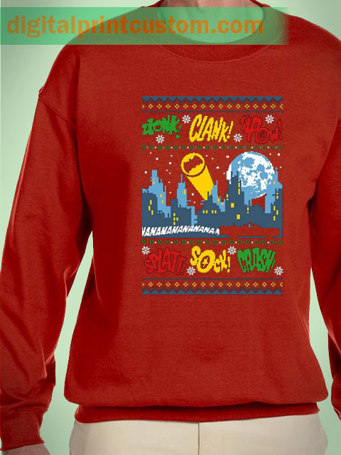 Batman Pop Art Sweater