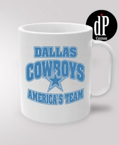 Dallas Cowboys American Team Coffee Mug 11oz