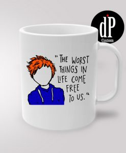 Ed Sheeran The A Team Lyric Cartoon Coffee Mug 11oz