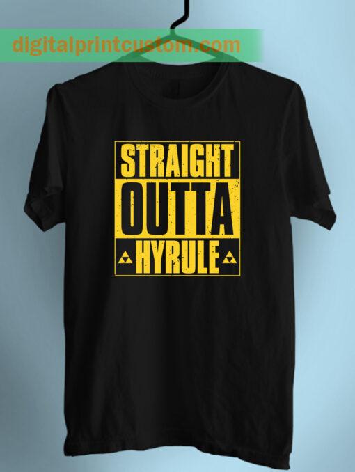 Straight Outta Hyrule Zelda Unisex T Shirt