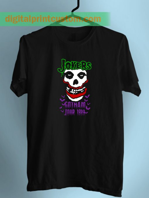 Joker Gotham City Tour Unisex T Shirt