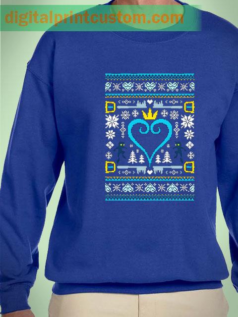 Kingdom Hearts Christmas Sweater