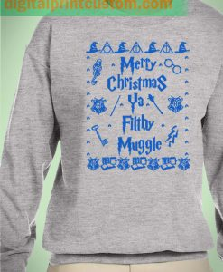 Harry Potter Muggle Merry Christmas Unisex Sweatshirts