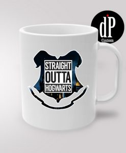 Hogwrats Castle Straight Outta Coffee Mug 11oz