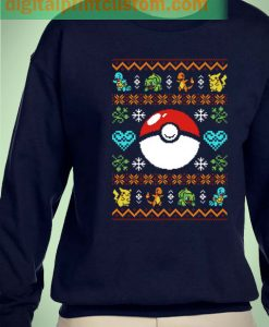 Pokemon Pokeball Christmas Unisex Sweatshirts