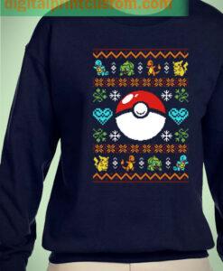 Pokemon Pokeball Christmas Unisex Sweatshirts