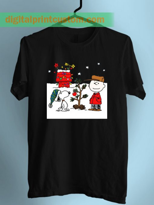 Snoopy and Charlie Brown Unisex T Shirt