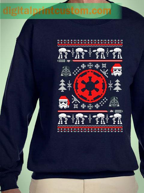 Star Wars Stormtrooper Chrsitmas Unisex Sweatshirts
