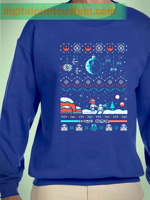 Star Wars Ugly Sweater Holiday Unisex Sweatshirt