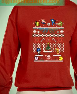 Supermash Bit Ugly Sweater Unisex Sweatshirts