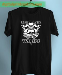 Stormtrooper Star Wars Support Our Troops Adult T Shirts