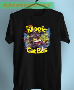 Totoro Magic Cat Bus Unisex T Shirt