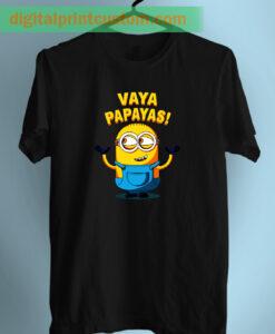 Despicable Minion Vaya Papaya Quote Unisex T Shirt