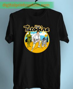 Visit Tatooine Star Wars Unisex Adult T Shirt