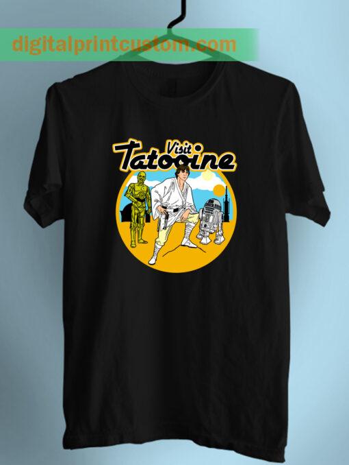 Visit Tatooine Star Wars Unisex Adult T Shirt