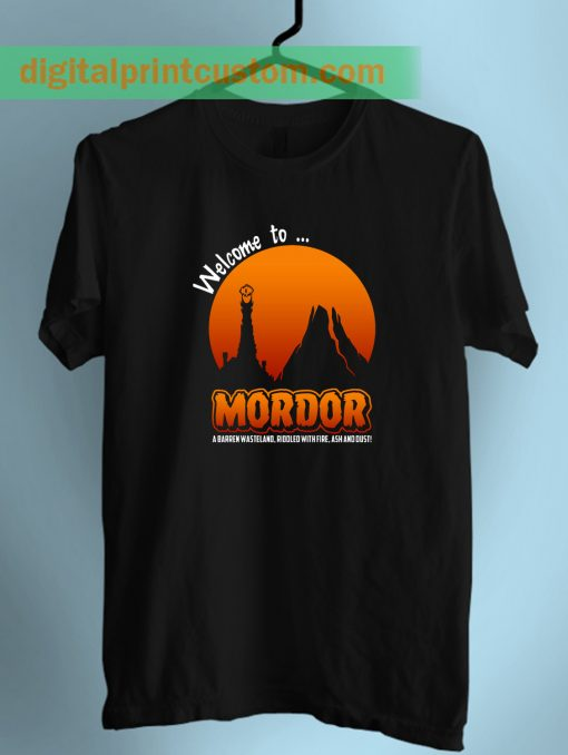 Visit To Mordor Lord Of The Rings Adult T shirt