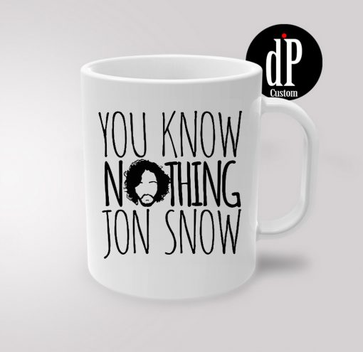 Jon Snow game of Thrones Coffee Quotes Mug 11oz