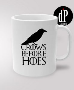 Crows Before Hoes Jon Snow Coffee Mug 11oz
