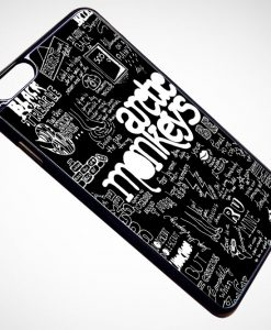 Arctic Monkey Lyrics Collage iPhone and Samsung Cases