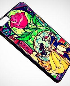 Beauty The Beast Stained Glass iPhone and Samsung Cases