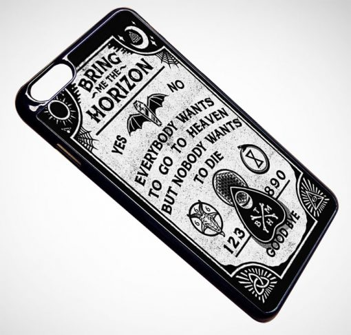 Bring Me The Horizon Ouija Board iPhone and Samsung Cases