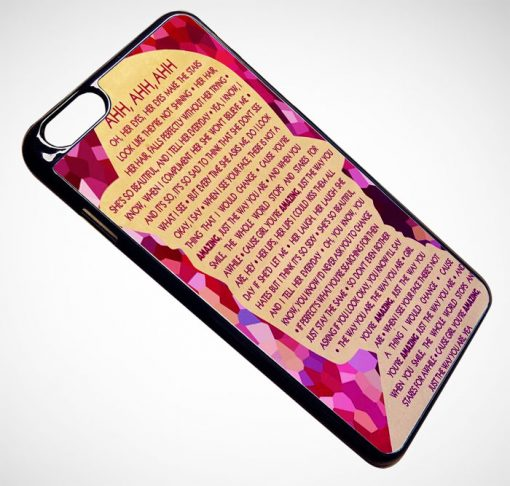 Bruno Mars Typhography Quotes iPhone and Samsung Cases