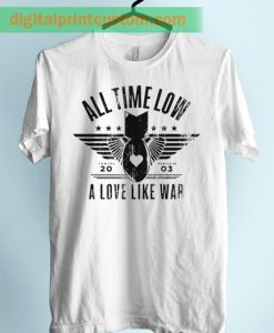 All Time Low A Love Like War Unisex Adult T Shirt