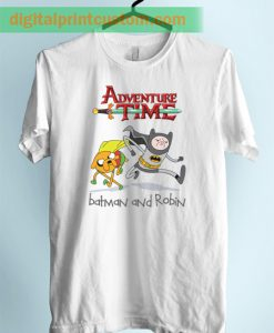 Adventure Time Jake Finn Batman Style Unisex Adult T Shirt