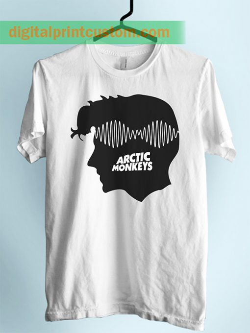 Arctic Monkeys Alex Turner Sillhoute Unisex Adult Tshirt