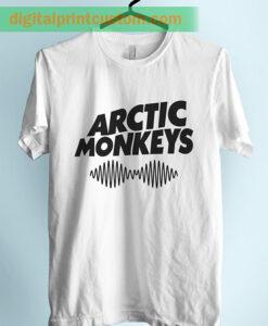 Arctic Monkeys Wave Symbol Unisex Adult TShirt