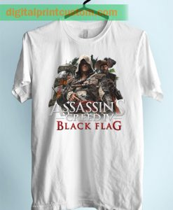 Assasins Creed Black Flag Unisex Adult TShirt