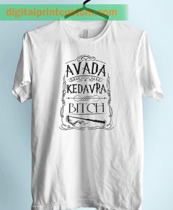 Harry Potter Avada Kedrava Quote Unisex Adult TShirt