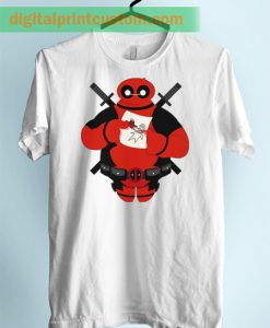 Baymax Deadpool Unisex Adult TShirt