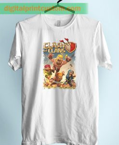 Clash of Clans War Againt Unisex Adult TShirt