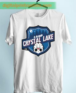 Crystal Lake Camp Unisex Adult Tshirt