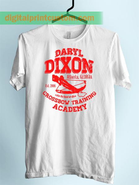 Daryl Dixon Walking Dead Crossbow Training Unisex Adult Tshirt