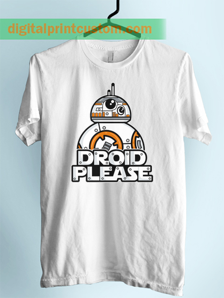 Starwars BB8 Droid Please Unisex Adult T Shirt