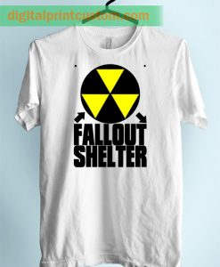 Fallout Shelter Nuclear Unisex Adult TShirt