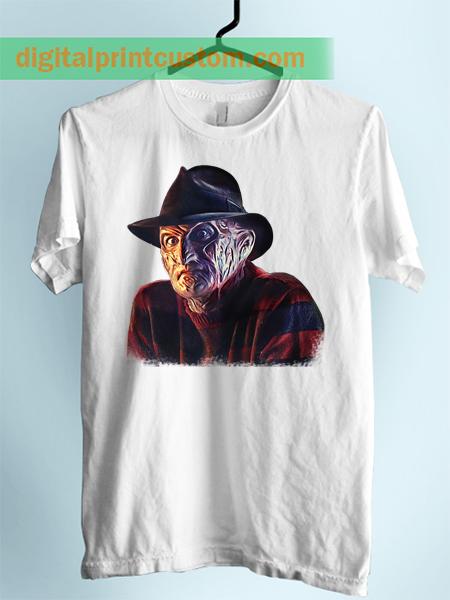 Freddy Kruger Walking Dead Unisex Adlut Tshirt