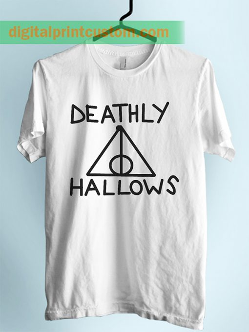 harry Potter Deathly Hallows Symbol Unisex Adult Tshirt