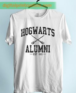 Harry Potter Hogwarts Alumni Unisex Adult Tshirt