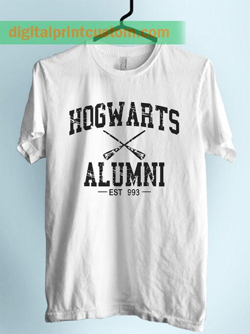 Harry Potter Hogwarts Alumni Unisex Adult Tshirt