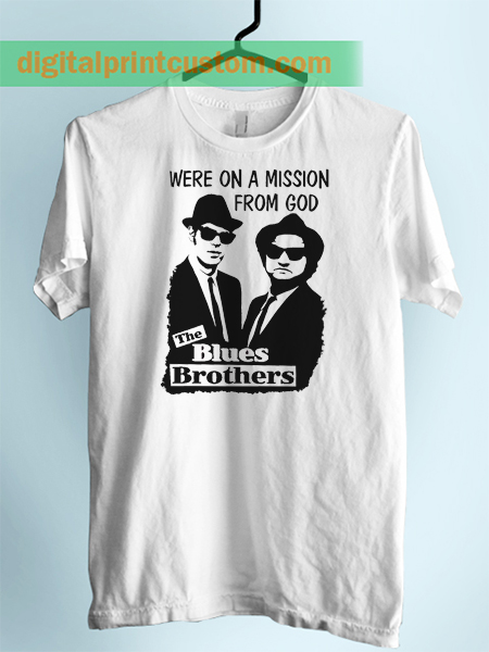 Mission From God Blues Brother Unisex Adult Tshirt