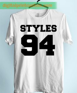 Harry Styles 1D 94 Jersey Number Unisex Adult TShirt