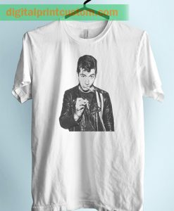 Alex Turner Ciggy Arctic Monkey Unisex Adult T Shirt