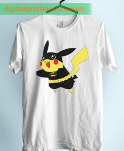 Funny Batman Pikachu Unisex Adult Tshirt
