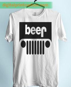 Beer Car Style Unisex Adult Tshirt